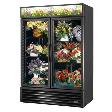 true gdm fc hctsl  cuft dual glass door floral