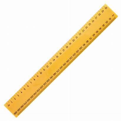 Ruler Scale Yellow Wooden Clipart Plastic Wedo