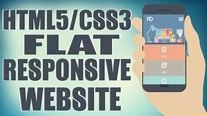 HTML5CSS3 Flat Responsive Website Start To Finish Web