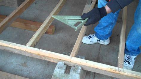 episode  foundation  floor framing youtube