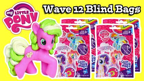 my pony blind bags my pony blind bags wave 12 cutie magic