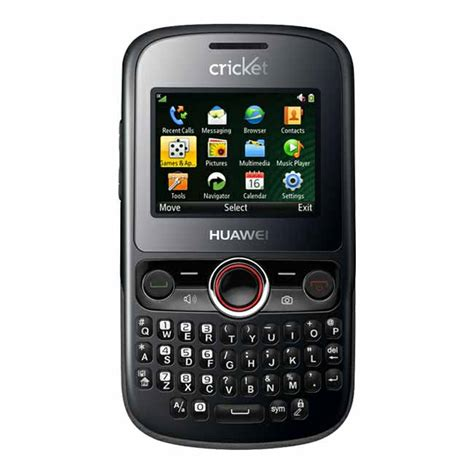 cricket new phones new huawei pillar m615 cricket phone qwerty keyboard