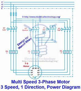 Wiring Diagram For A 3 Phase Motor On Single Phase Supply