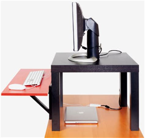 standing desk wired