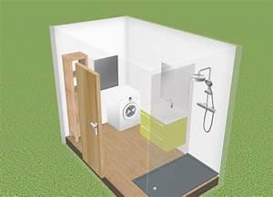 Salle De Bain 5m2 : salle de bain 5m2 excellent salle de bain sous pente m ~ Dailycaller-alerts.com Idées de Décoration