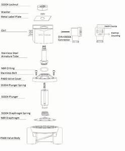1  2 U0026quot  Inch Plastic Air Water Zero Differential Electric
