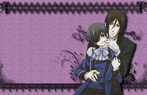 black butler wallpaper ciel wallpapersafari