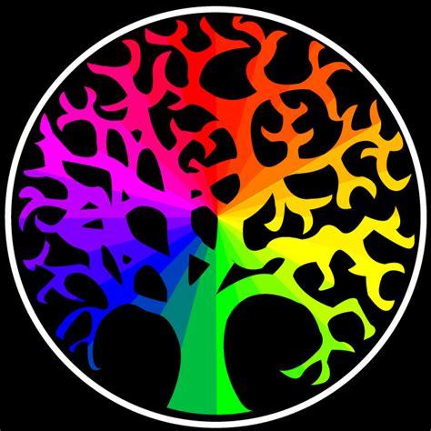 color wheel tree color wheel tree by everybodyluvsanton on deviantart