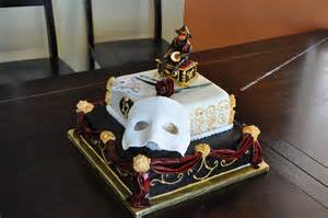 Phantom of the Opera Cake Idea