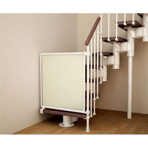 barriere securite escalier helicoidal barri 232 re s 233 curit 233 escalier kalypto en m 233 tal min max 54 82 cm h73 cm leroy merlin