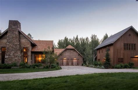 Pole Barn Houses Exterior Rustic With Sun Valley Idaho