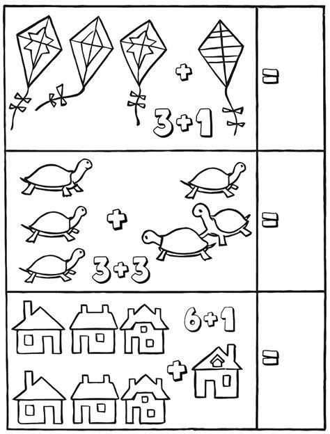 Coloring Kindergarten Math kindergarten math worksheets best coloring pages for