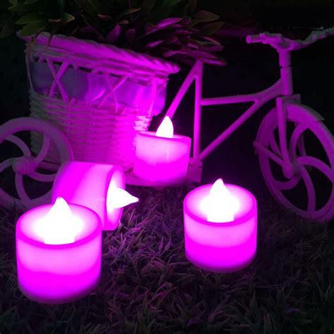 amber led tea lights 1 pcs flameless candles amber decorative led electronic