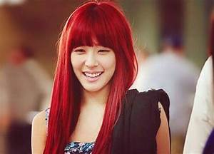 Red hair : Which Idol looks best with red hair?   K-Pop Amino