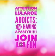 lularoe consultant coming  ahhh  join  pop