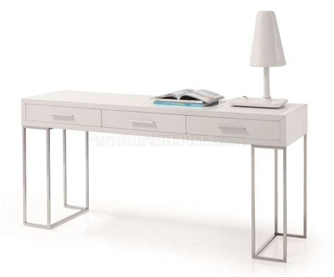 modern white desk with drawers sg02 modern office desk by j m in white w 3 drawers