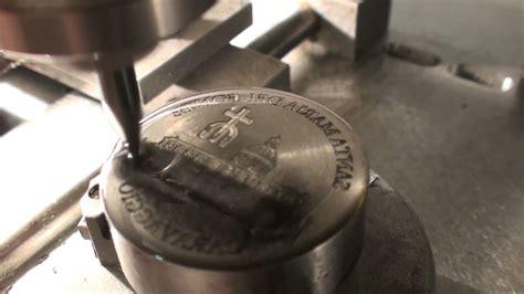 engraver tool roland egx 350 engraving a coin die