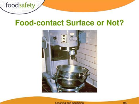 id馥 cuisine surface ppt cleaning and sanitizing powerpoint presentation id 506019