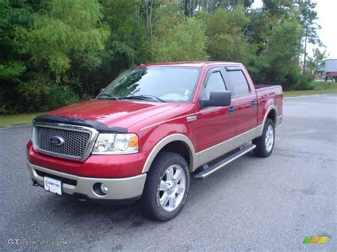 lariat paint color 2008 redfire metallic ford f150 lariat supercrew 4x4