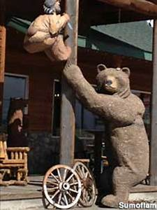 North American Designs Idaho Falls Id Big Wood Carved Animals