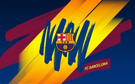 With camp nou it owns the largest football stadium in. Barcelona Logo Wallpaper | PixelsTalk.Net