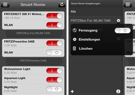 smarthome app steuert intelligente steckdosen der fritz