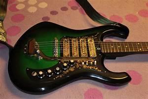 Late 60s Kimberly 4 Pickup Greenburst Guitar And Kawai