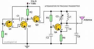4 Transistor Fm Tracking Transmitter