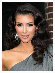 Kim kardashian side part black body wave virgin brazilian ...