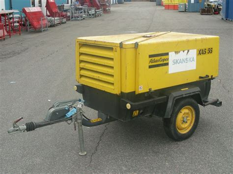 atlas copco kompressor tryckluftutrustning kompressor atlas copco xas 56 dd for sale retrade offers used machines