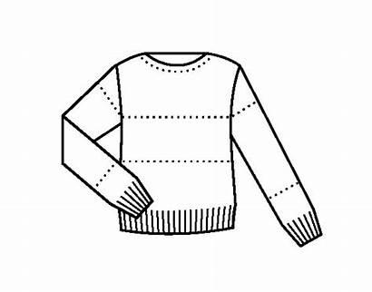 Colorear Dibujos Pull Camisola Sueter Maglione Colorir