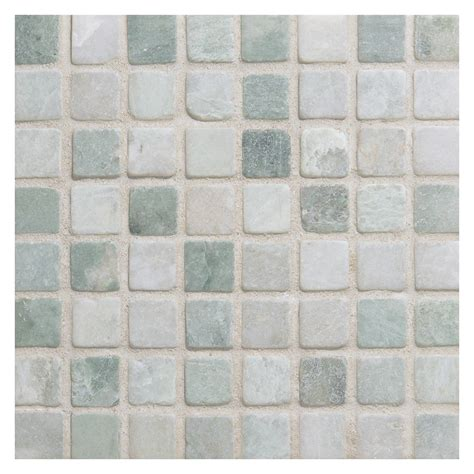 ming green marble tile marble mosaic tile 5 8 quot square ming green tumbled