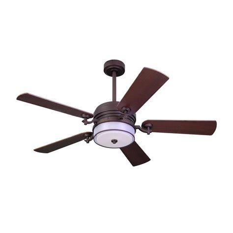 Home Decorators Collection Ceiling Fan by Home Decorators Collection 52 In Indoor Bronze Organza