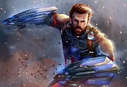 Captain America Infinity War Avengers Wallpapers Artwork
