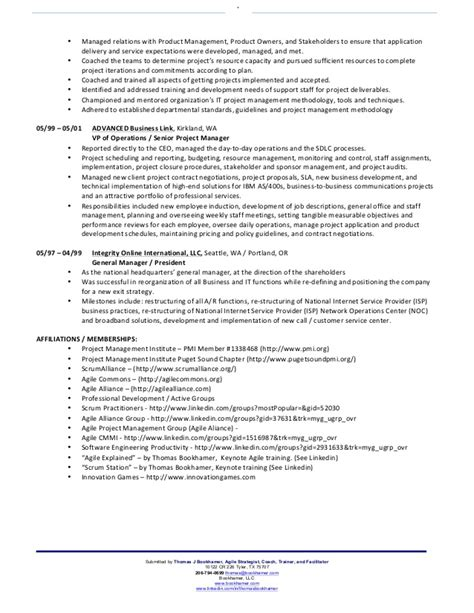 Agile Development Manager Resume by Agile Scrum Resume Persepolisthesis Web Fc2