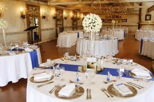 royal blue and gold wedding decorations royal blue silver white wedding decorations http weddingstopic