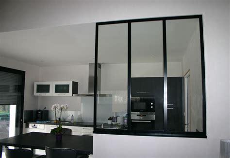 une mesure en cuisine verrière métal bureau et cuisine mecametal