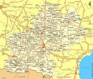 Carte Du Gers Détaillée : carte midi pyr n es plan midi pyr n es ~ Maxctalentgroup.com Avis de Voitures