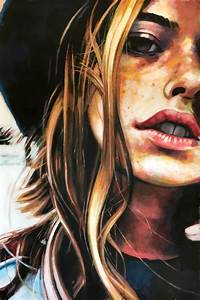Saatchi Art: Bohemian Girl Painting by Thomas Saliot