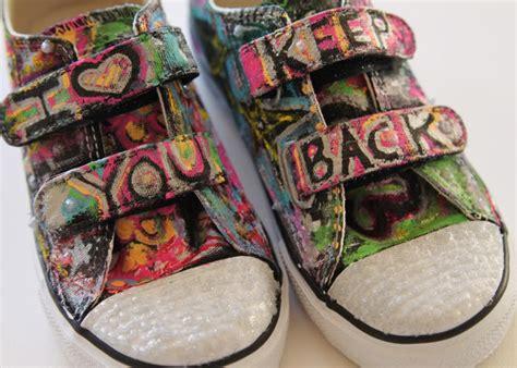 graffiti shoes  tutorial