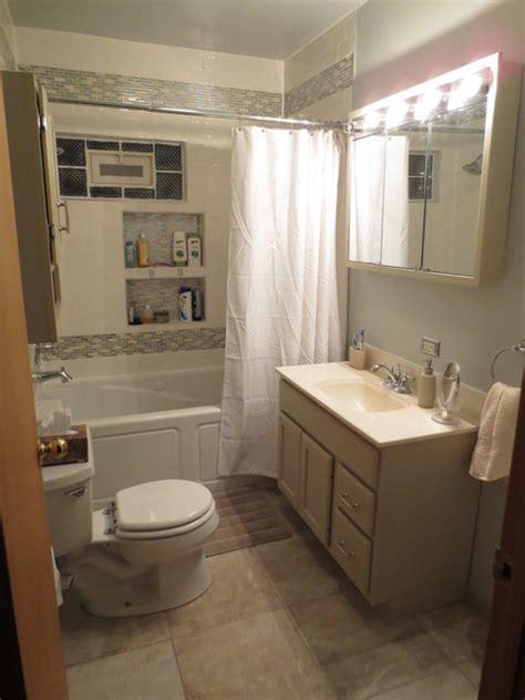 redone bathroom ideas small bathroom redo traditional bathroom chicago