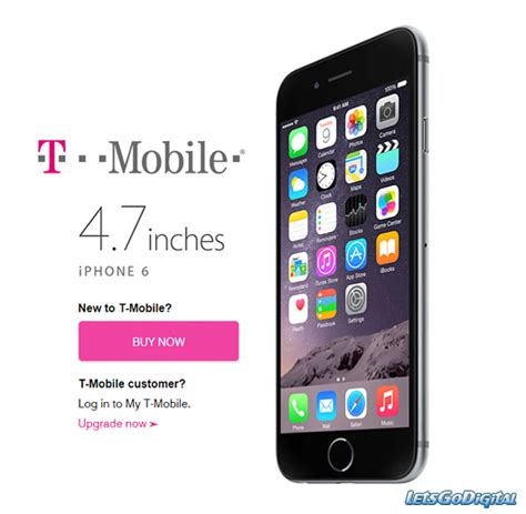 t mobile iphones t mobile iphone 6 plus letsgodigital