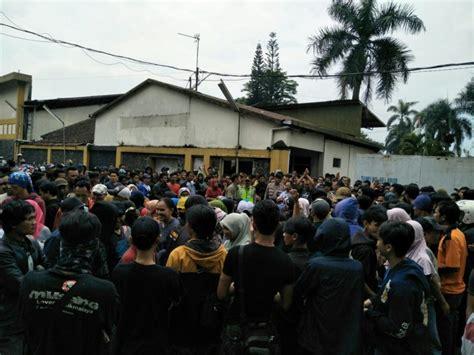polres tasikmalaya kota amankan unjuk rasa ratusan