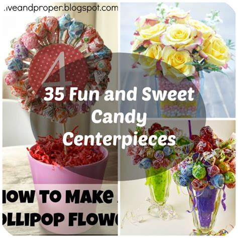 Sweet Table Vases by 35 Sweet Centerpiece Ideas For