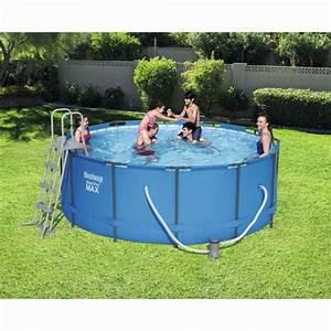 Grande Piscine Tubulaire : piscine tubulaire steel pro max bestway ronde 10 250 l piscine hors sol spa plein air ~ Mglfilm.com Idées de Décoration