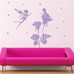 fairy wall decals 2017 grasscloth wallpaper With fairy wall decals