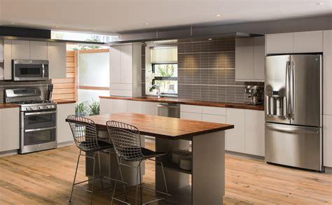 Industrial Kitchen Design Ideas - minimalist kitchen design photo ge appliances