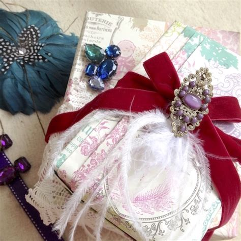 Steampunk Style Gift Wrapping Inspiration  Jane Means