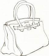 Bag Coloring Hermes Drawing Handbag Pages Drawings Kelly Line God Greek Deviantart Lesson Getdrawings Login sketch template