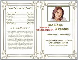 printable funeral program template free download by With free downloadable funeral program templates